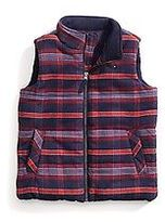 Tommy Hilfiger Big Boy's Plaid Puffer Vest