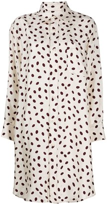 Marni Bubble Print Shirt Dress
