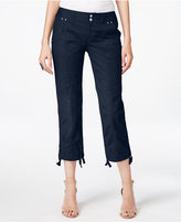 INC International Concepts Curvy-Fit Cargo Capri Pants, Created for Macy's