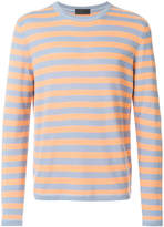 Iris von Arnim striped long sleeve jumper
