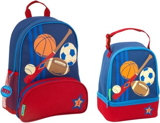 Stephen Joseph Sports Sidekick Backpack & Lunch Pal