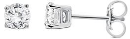 Unique Designs 14K White Gold Diamond Stud Earrings (71.4% off) Comparable value $700