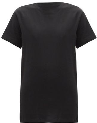 x karla The Classic Cotton-jersey T-shirt - Black