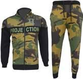 A2Z 4 Kids® Kids Tracksuit Boys HNL Camouflage Hoodie & Botom Jog Suit Joggers Age 7