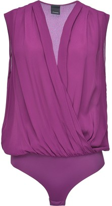 Pinko Draped Bodysuit