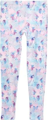 Capelli New York Unicorns & Butterflies Fleece Lined Leggings