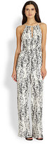 Parker Shauna Silk Printed Jumpsuit