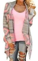 Mintsnow Women's Cardigan Sweater Jacket Cape Cloak knit poncho Outwear Cover up