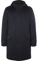 Loro Piana Suede-trimmed Storm System® Cashmere Parka