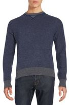 Saks Fifth Avenue Colorblock Marled Sweater