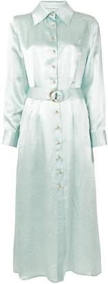 Anna Quan Adela belted shirt dress