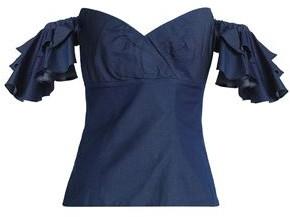 Caroline Constas Denim shirt