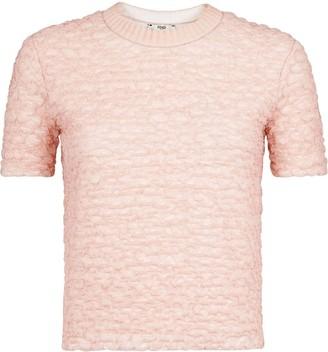 Fendi smocked T-shirt