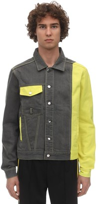 Dmckal Dmc Color Block Cotton Denim Jacket
