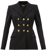 Givenchy Multi-button Wool Jacket - Womens - Black