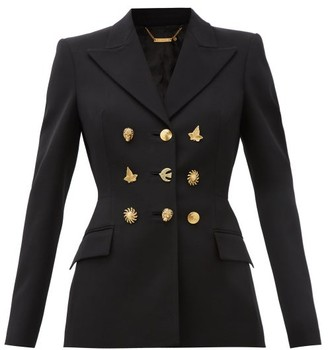 Givenchy Multi-button Wool Jacket - Black