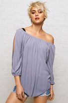 American Eagle Outfitters Don't Ask Why Off-The-Shoulder Shirt