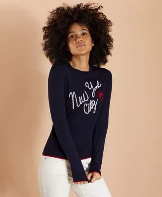 Brooks Brothers New York City Merino Wool Sweater