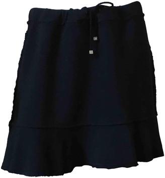 Blumarine Black Cotton Skirt for Women