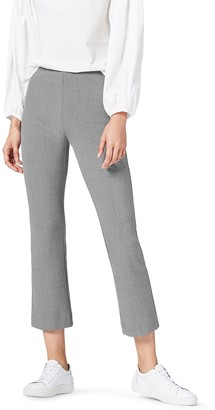 Find. Women's Flare Trousers in Crop Cut with Side Zip