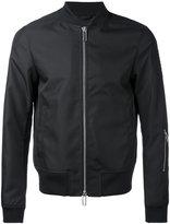 Emporio Armani logo bomber jacket - men - Polyester - L