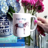 The Well Appointed House Ceramic Donkey Mug - IN STOCK IN OUR GREENWICH STORE FOR QUICK SHIPPING