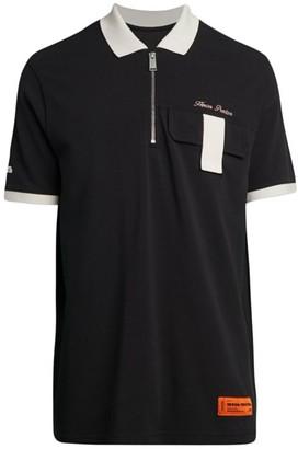 Heron Preston Quarter-Zip Pocket Polo