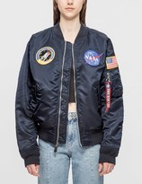 Alpha Industries Unisex L-2B NASA Jacket