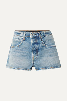 Alexander Wang Bitty Denim Shorts - Mid denim