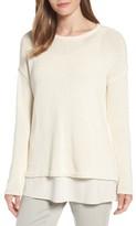 Eileen Fisher Women's Cotton Blend Sweater