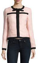 Karl Lagerfeld Tweed Textured Jacket