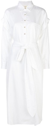 Mara Hoffman Belted Shirt Dress