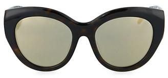Pomellato 53MM Rounded Cat Eye Sunglasses