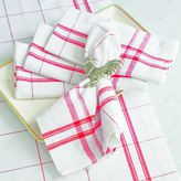 Sur La Table Check Napkins, Set of 4