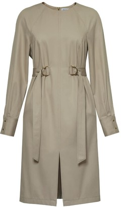 Diana Arno Felicity Long Sleeve Cotton Dress