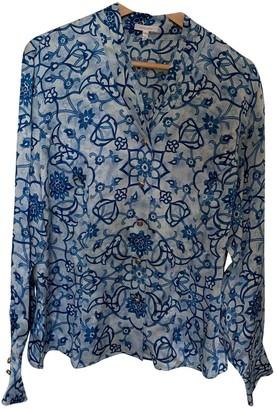 Escada Blue Silk Top for Women