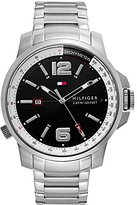 Tommy Hilfiger Men's 1791222 Cool Sport Analog Display Japanese Quartz Silver Watch