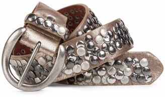 styleBREAKER studded belt in vintage style shortenable 03010024 size:100cm