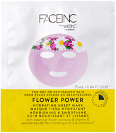 Nails Inc FACEINC by Flower Power Hydrating Sheet Mask - Nourishing and Smoothing