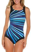 Reebok One-Piece Printed Swimsuit
