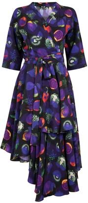 Gung Ho Pesticide Wrap Dress