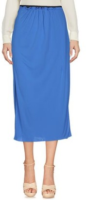 Jil Sander Navy 3/4 length skirt