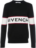 Givenchy logo knit jumper