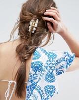 Asos Multi Faux Pearl Hair Claw