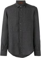 Barena long-sleeve shirt - men - Linen/Flax - 50