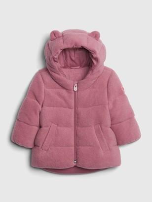 Gap Baby Fleece Puffer Jacket