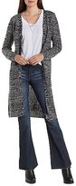 Charlotte Russe Waffle Knit Duster Cardigan Sweater
