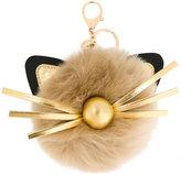 Marc Cain cat embellished keyring