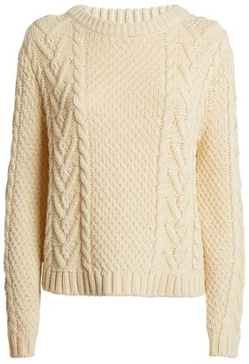 Max Mara Cable-Knit Sweater