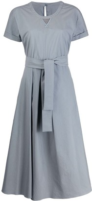 Brunello Cucinelli tie-waist dress